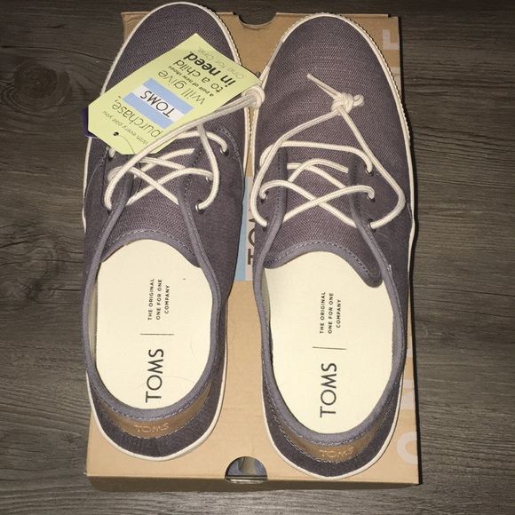 f091da51215 NWT Toms Shade Heritage Canvas Men s Carlo Sneaker
